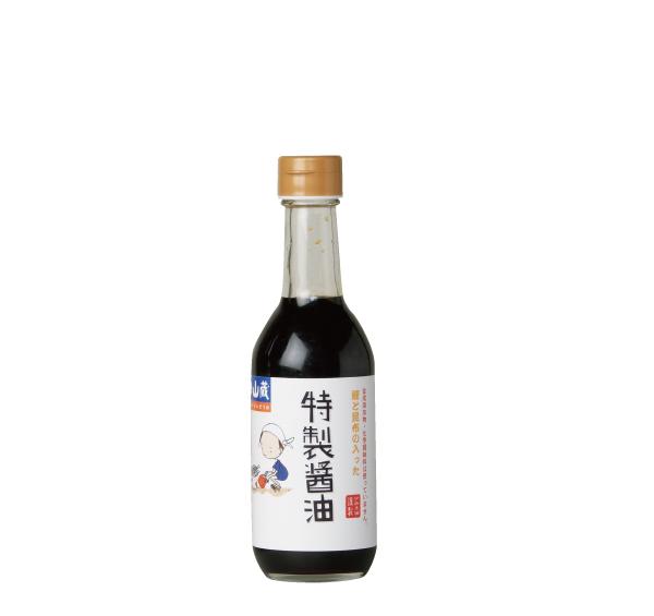 鰹と昆布の入った特製醤油