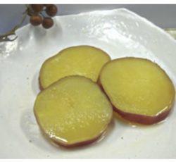 さつまいもの甘露煮柚子味