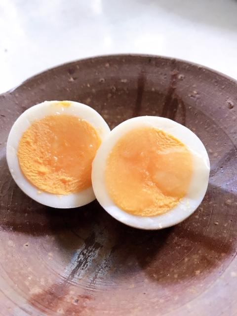 ゆで卵塩だれ味