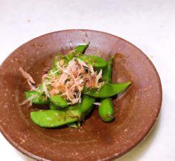 枝豆の麺つゆ和え